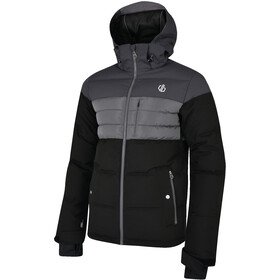 Dare 2b Connate Chaqueta Hombre, black/ebony grey